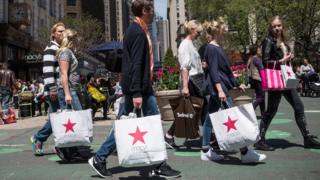 Shoppers i the US