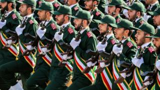 Ислам революциясынын сакчылар корпусу 1979-жылы шах бийликтен кулатылгандан кийин түзүлгөн