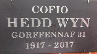A Hedd Wyn Plaque unveiled in Flanders