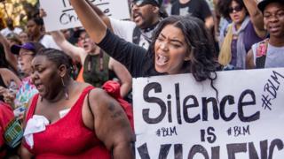 Протесты в Шарлотте