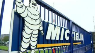 Michelin tyre factory in Ballymena