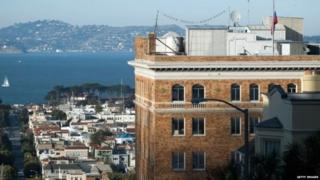 The San Francisco consulate is one of five in the US