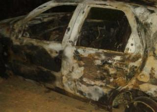 The mob beat up the Tanzanian students and set fire to their car