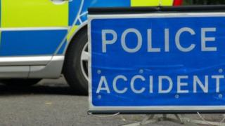 The road traffic collision happened near Ballymoney in County Antrim