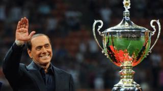 میلان در دوران برلوسکنی ۲۹ بار قهرمان شد