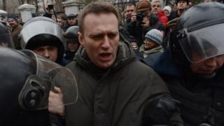 Задержание Навального 24 февраля 2014 года