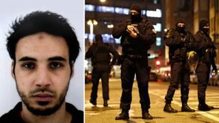 The man suspected of being behind the Strasbourg shootings, Cherif Chekatt