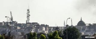 Аль-Хадба минарети, 22-июнь 2017-ж.