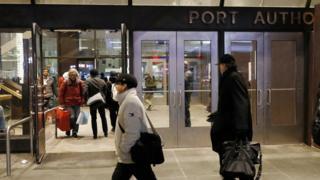 Le Terminus de Port Authority à New York City, New York