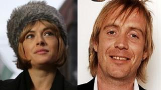 Gwenno Saunders and Rhys Ifans