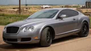 A Bentley Continental GT