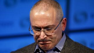 Mikhail Khodorkovsky in London (file pic Nov 2015)