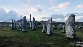 Calanais Standing Stones on the Isle of Lewis