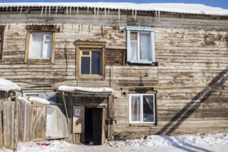 Барак в Якутске
