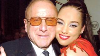 Clive Davis and Alicia Keys