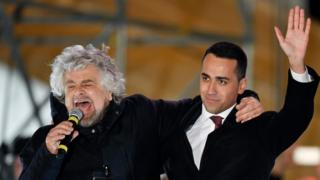 Beppe Grillo ve Di Maio