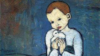 Picasso's Child With A Dove