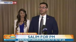"Salim Mehajer announces his ambition to become Australia's prime minister during a ""presidential style"" one-to-one interview"