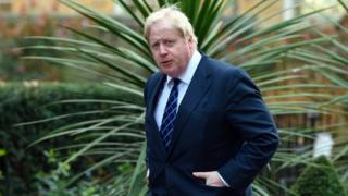 Foreign Minister Boris Johnson