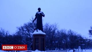Москвадаги Алишер Навоий ҳайкали
