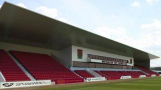 East Stand at Sixfields