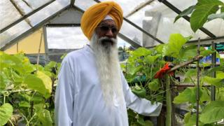 Raghbir Singh Sanghera giant cucumber