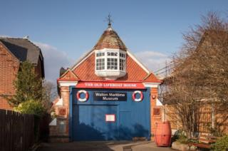 The Old Lifeboat House, Walton Maritime Museum, East Terrace, Walton on the Naze, Essex has been listed at Grade II in 2018