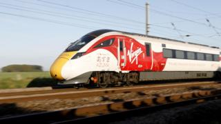 Virgin Trains new Azuma train