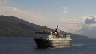 Ferry off Mull
