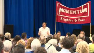 Momentum rally prior to BHD Labour Party AGM