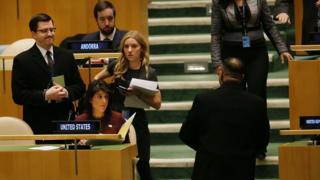 Представниця США Ніккі Гейлі на спецзасіданні Генасамблеї ООН пообіцяла, що США все одно розмістять своє посольство у Єрусалимі