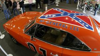 'General Lee', featuring the Confederate battle flag