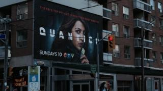 Quantico billboard in New York City