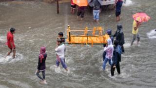 انڈیا، سیلاب، بارشیں، پٹنہ، بہار