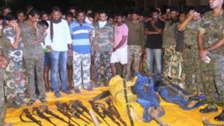महाराष्ट्र पोलीस, नक्षलवादी, गडचिरोली