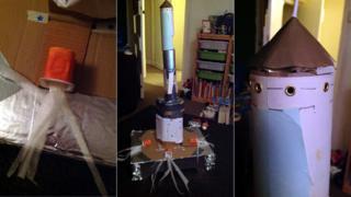 Harry's rocket
