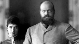 Tsar Alexander III and Empress Maria Fyodorovna, 1881