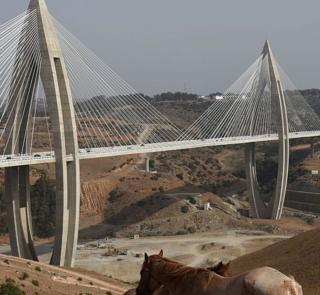 Longest cable-stayed bridge in Africa named the 'Mohammed VI Bridge'