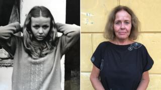 Ivana Dolezalova in 1968 and today