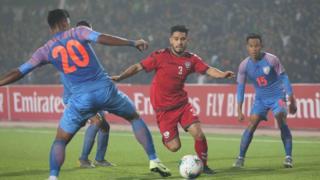مسابقه فوتبال افغانستان با هند