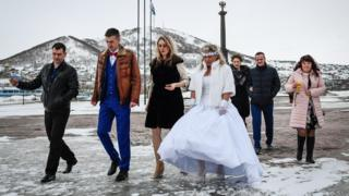 Молодожены в Петропавловске-Камчатском