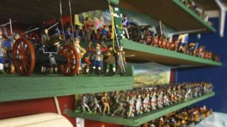 Toy soldier collection