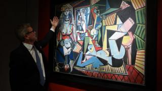 """استلهم بيكاسو لوحة """"نساء الجزائر"""" من باية محي الدين"""
