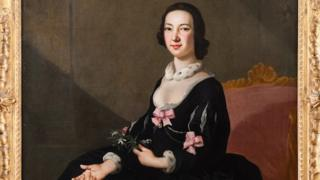 Portrait of a Lady (Miss Mary Jenkins?) c.1750