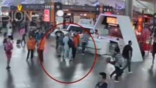 13 Şubat 2017 Kuala Lumpur havaalanı güvenlik kamerası görüntüleri
