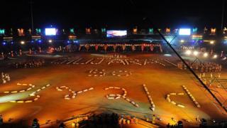 સ્વર્ણિમ ગુજરાતની ઊજવણીની તસવીર