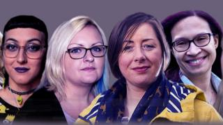 Jasmine, Hannah, Claire y Amanda. Mujeres que fueron diagnosticadas con autismo cuando eran adultas