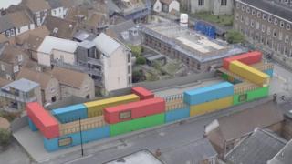 An artist's view of the development