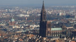 A view of Strasbourg (file image)