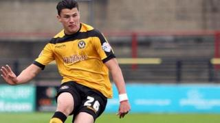 Newport County defender regan Poole
